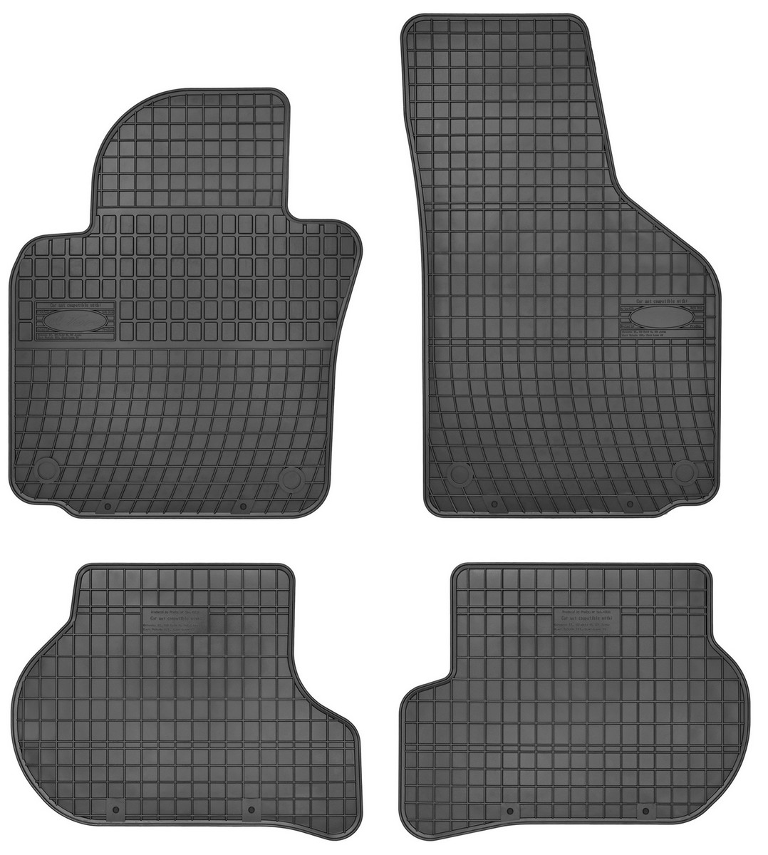 Gumové koberce, SEAT TOLEDO III, 2004->