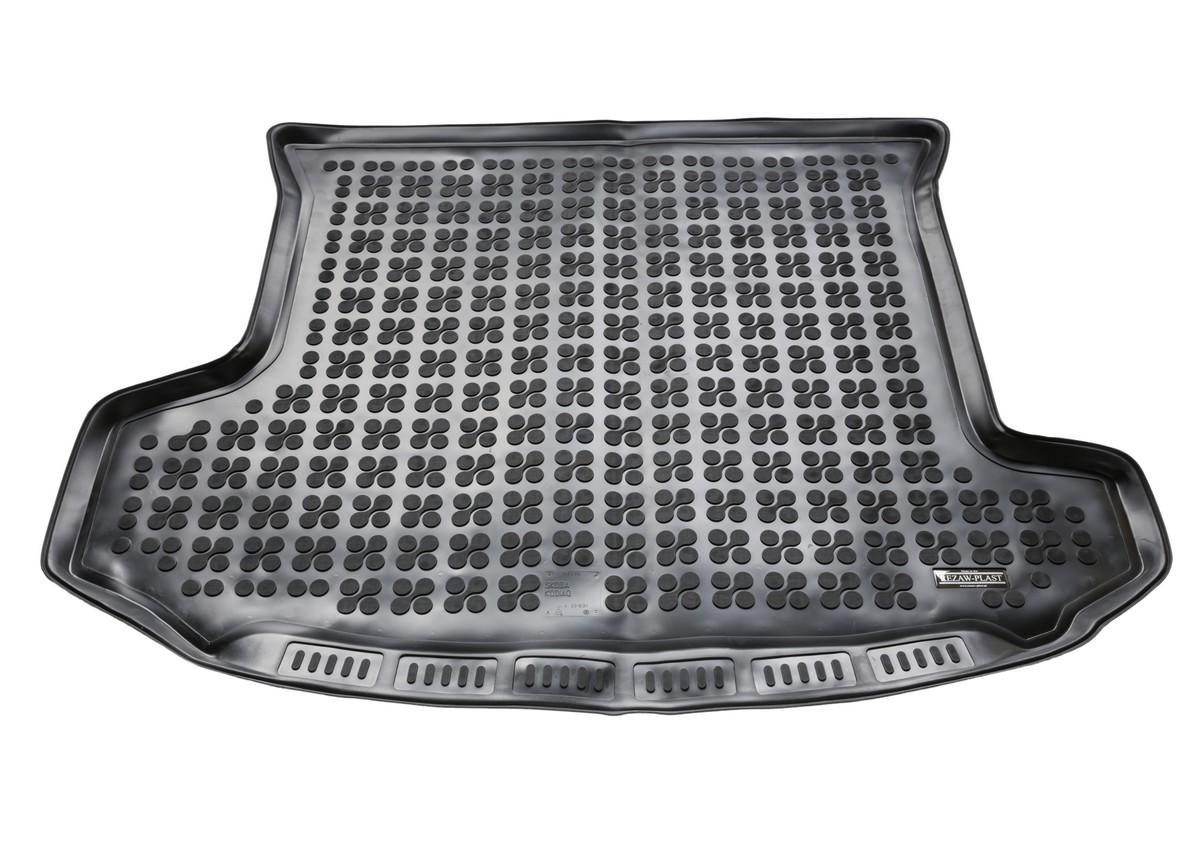Gumová vana do kufru Škoda Kodiaq, 2016->, 7 sedadel, třetí řada sedadel sklopená