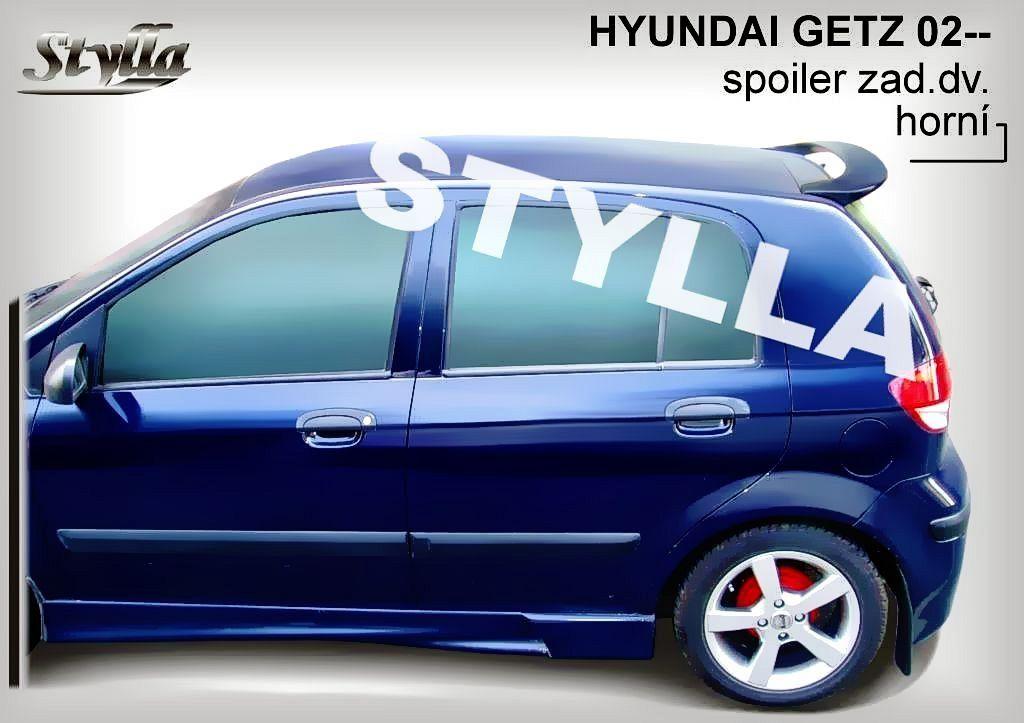 Spoiler zadních dveří horní, Hyundai Getz, 2002-2009
