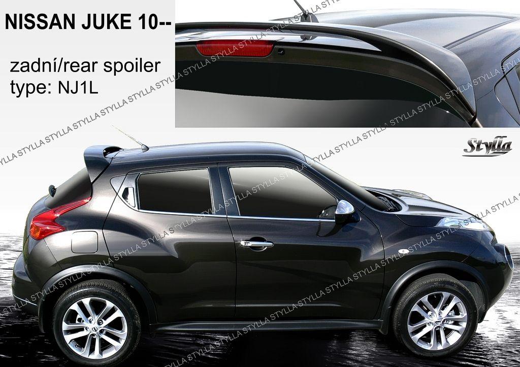 Spoiler zadních dveří horní, Nissan Juke, 2010-