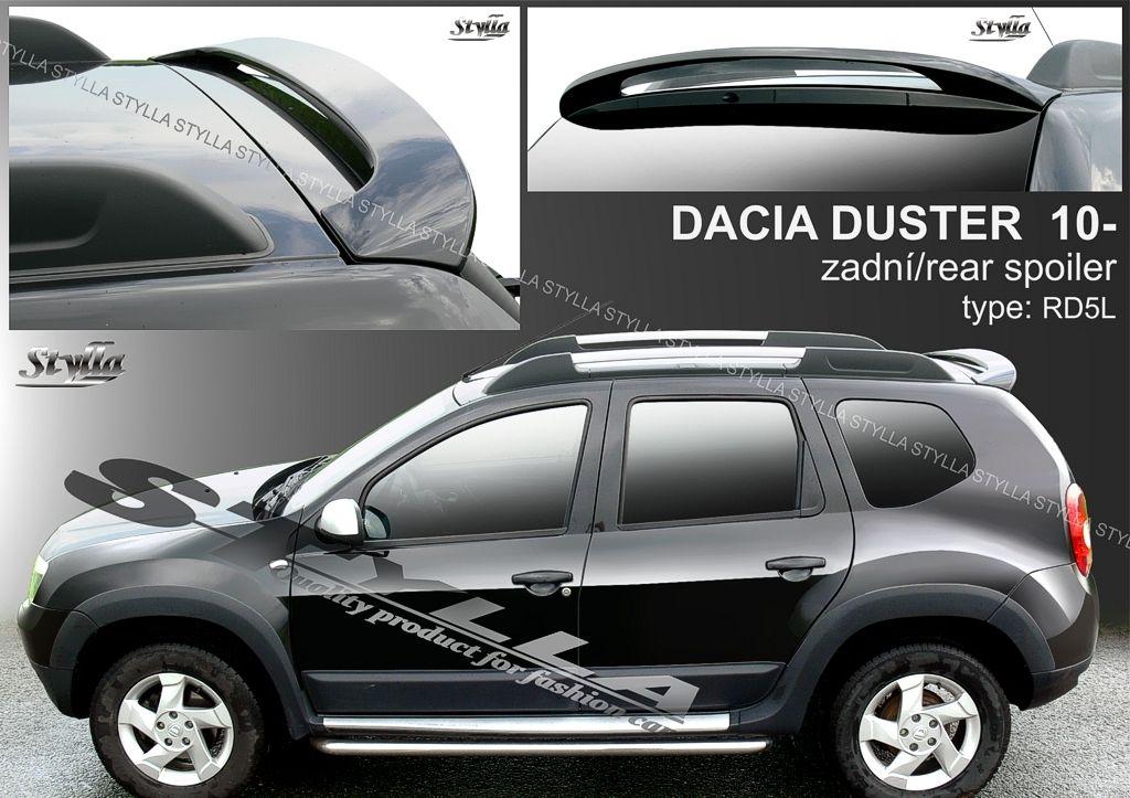 Spoiler zadních dveří horní, Dacia Duster I, 2010-2017