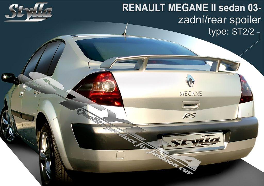 Spoiler na kapotu, Renault Megane II, 2003-2008