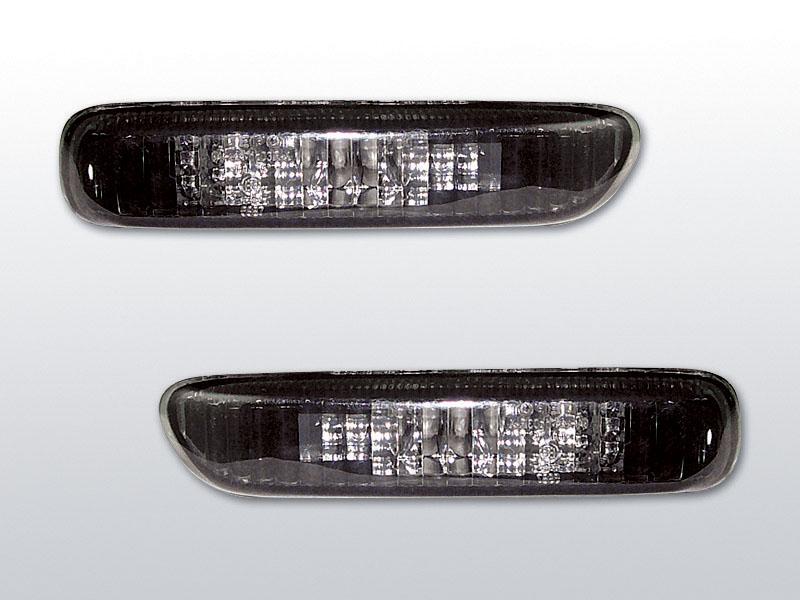 Blinkry boční, BMW E46, SEDAN/TOURING, BLACK