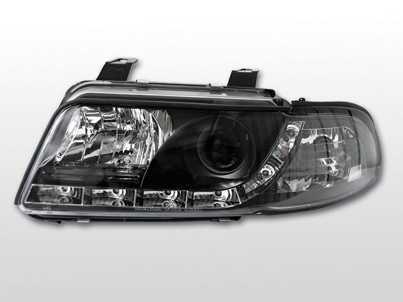 Přední světla, AUDI A4, 1999->2000