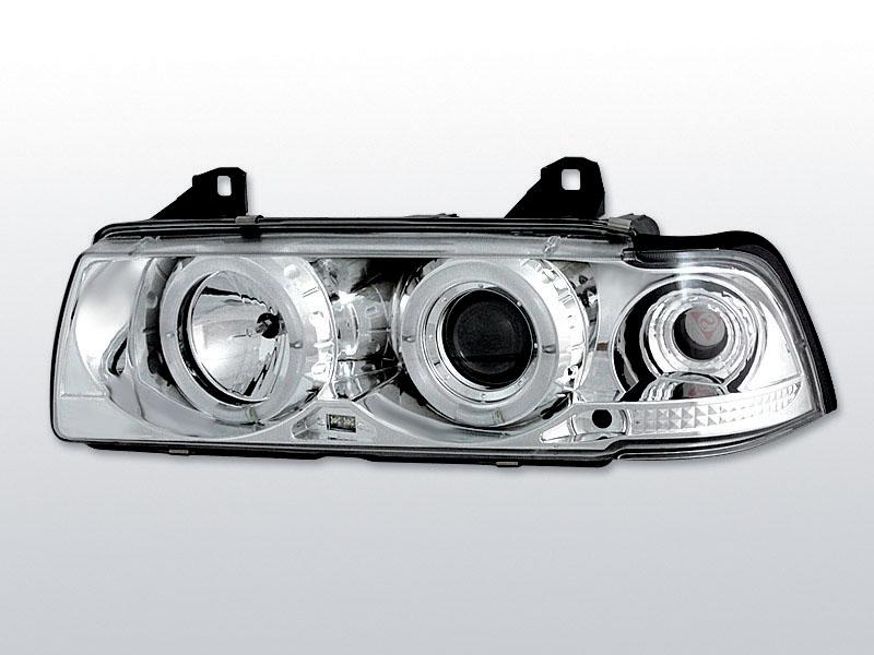 Přední světla, BMW E36, 1990->1999