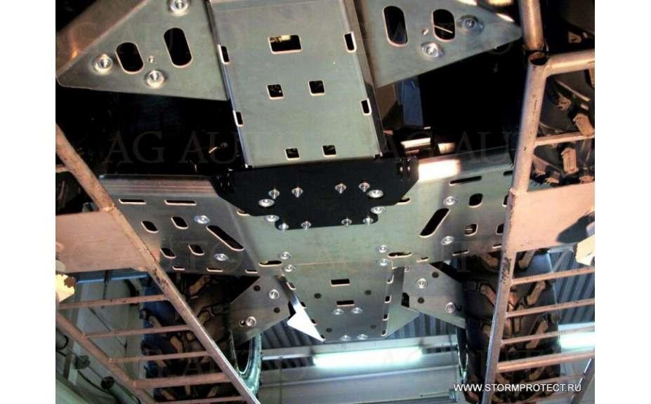 Montážní kit k sněžnému pluhu, Can-Am (Bombardier) Outlander, 2012->, Ocel 5mm