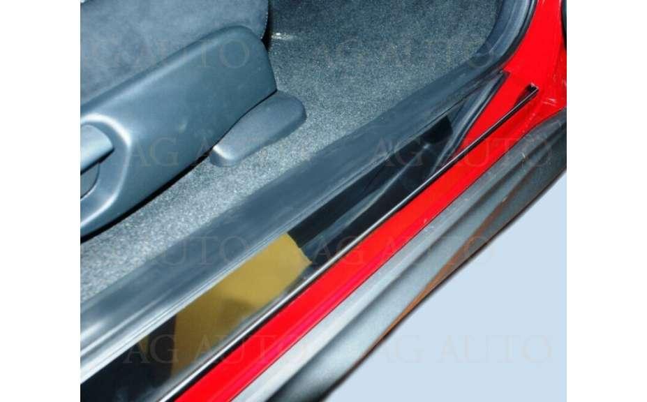 Ochranné kryty prahů nerez, Mazda 5 2003-2009, Hatchback, 5 dveř.
