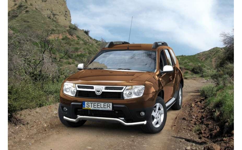 Spodní chrániš nerez s EC homologací Dacia Duster I, 2014-2017