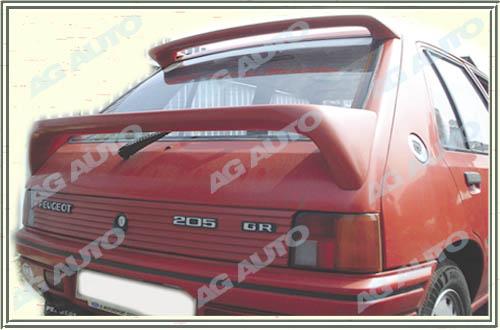 Spoiler zadních dveří horní, PEUGEOT 205, 02/83-10/87